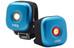 Knog Blinder fietsverlichting 1 LED Twinpack, standaard blauw